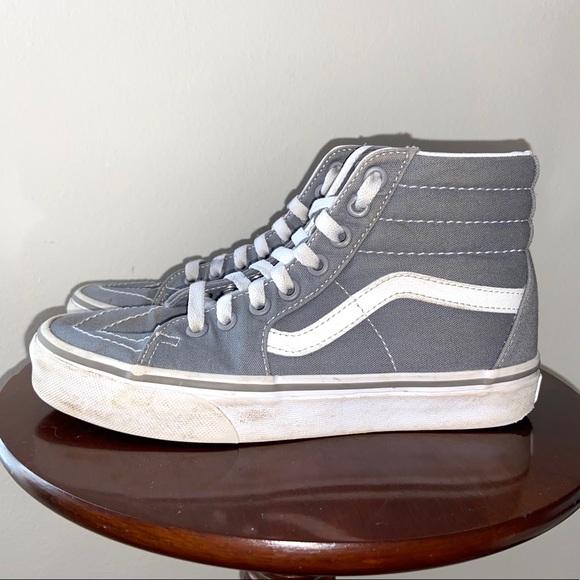Vans Shoes | Grey High Top Sneakers